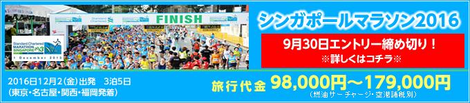 シンガポールマラソン2016